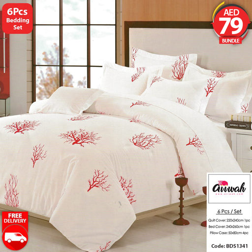 6 Piece Bedding Set-BDS1341 - Aiiwah.com