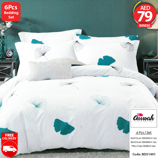 6 Piece Bedding Set-BDS1441 - Aiiwah.com