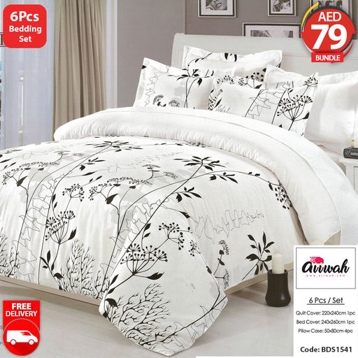 6 Piece Bedding Set-BDS1541 - Aiiwah.com