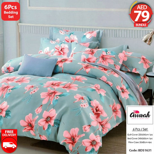 6 Piece Bedding Set-BDS1631 - Aiiwah.com