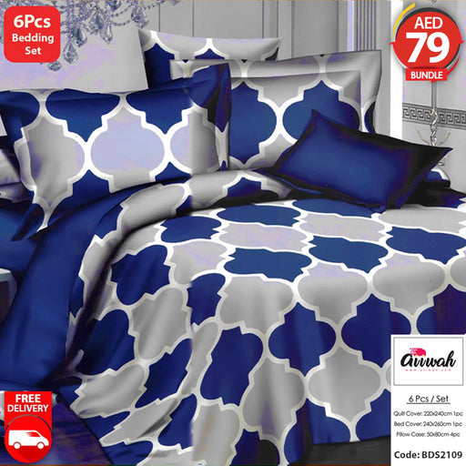 6 Piece Bedding Set-BDS2109 - Aiiwah.com