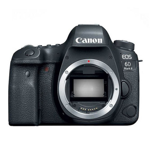 Canon EOS 6D Mark II Body Only, 26.2 MP, DSLR Camera (Black) - Aiiwah.com