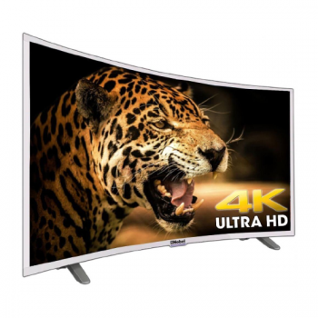"65"" Nobel UHDC6500S Curved  LED TV 4K UHD Silver - Aiiwah.com"