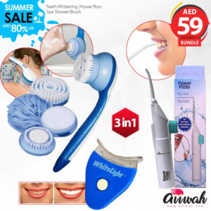 White Light Tooth Teeth Whitening System 3 in 1 Bundle Offer