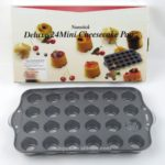 Nonstick Deluxe 24 Mini Cheesecake Pan