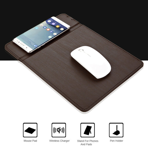 Multi-function Mouse Pad with Wireless Charger