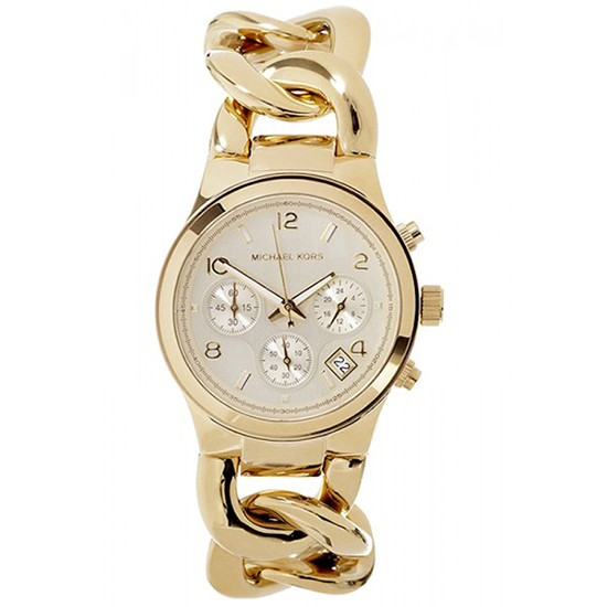 e64c90b20a8a Michael Kors Women s Runway Gold-Tone Watch - MK3131