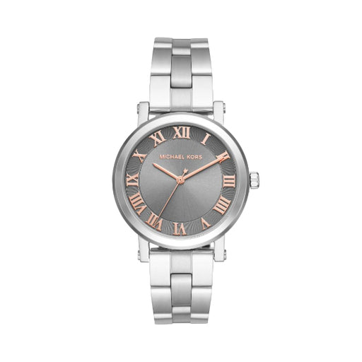 Michael Kors Norie Grey Dial Ladies Watch MK3559-Aiiwah.com