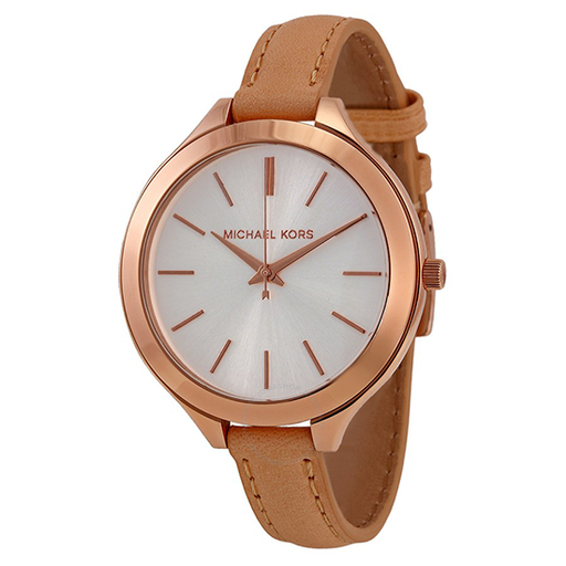 Michael Kors Women's Runway Brown Watch - MK2284-Aiiwah.com