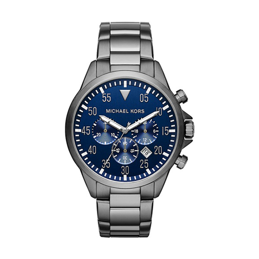 Michael Kors Men's 'Lexington' Blue Dial Chronograph Watch - MK8280-Aiiwah.com