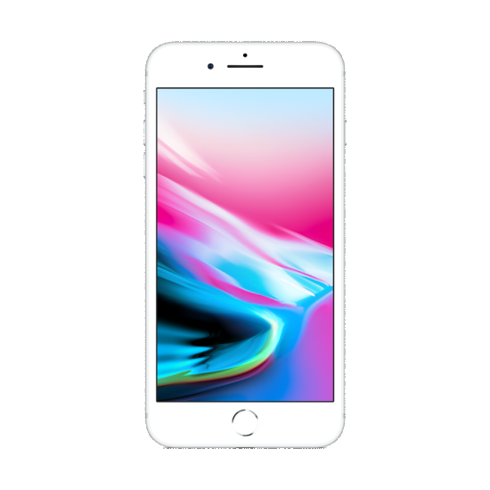 Apple iPhone 8 Plus 64GB LTE Smartphone Silver - with FaceTime - Aiiwah.com