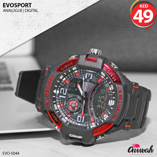 Evosport Analogue Digital Men's Watch - EVO-5044-Aiiwah.com
