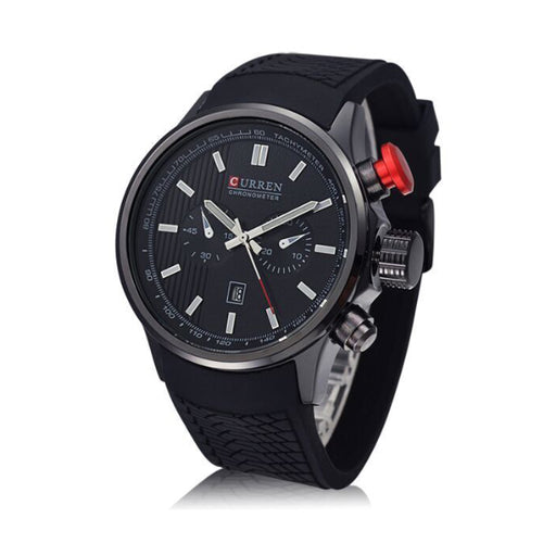 Curren for Men - Analog Rubber Band Watch - 8175BB-Aiiwah.com