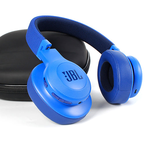 JBL On-Ear Bluetooth Headphones, Blue - E55BT-Aiiwah.com