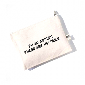 AOA Canvas Pouch- I am an Artist, These are My Tools - Aiiwah.com