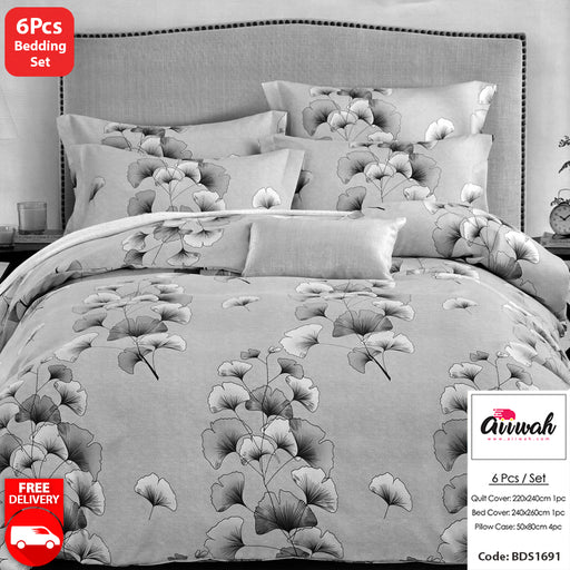 6 Piece Bedding Set-BDS1691 - Aiiwah.com