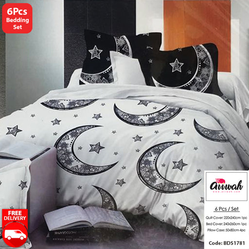 6 Piece Bedding Set-BDS1781 - Aiiwah.com