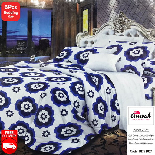 6 Piece Bedding Set-BDS1821 - Aiiwah.com