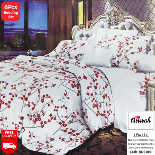 6 Piece Bedding Set-BDS1841 - Aiiwah.com
