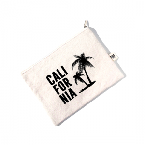 AOA Canvas Pouch - CALIFORNIA - Aiiwah.com