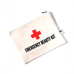 AOA Canvas Pouch- Emergency Beauty Kit - Aiiwah.com