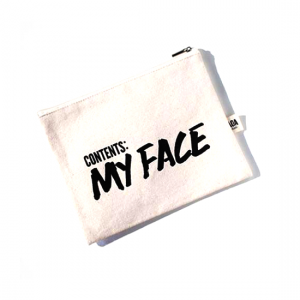 AOA Canvas Pouch- Contents: MY FACE - Aiiwah.com