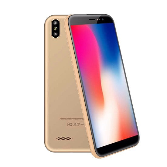 "Mione Mix 8 , 4G Dual Sim, Dual Cam, 5.7"" IPS, 32GB, Gold"