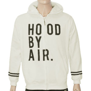 "Trap ""HOOD BY AIR"" Hoodie Jacket High Quality - Off White"