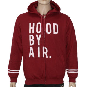 "Trap ""HOOD BY AIR"" Hoodie Jacket High Quality - Red"
