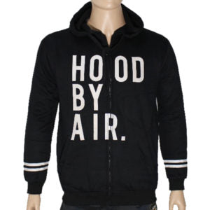 "Trap ""HOOD BY AIR"" Hoodie Jacket High Quality - Black"