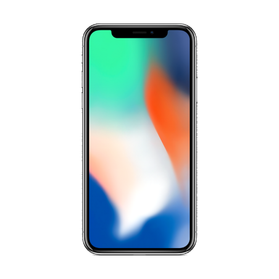 Apple iPhone X 256GB LTE Smartphone Silver - with FaceTime - Aiiwah.com