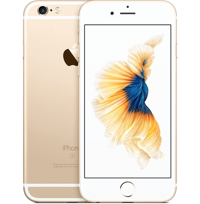 Apple iPhone 6S - 64GB, 4G LTE, Gold - Aiiwah.com