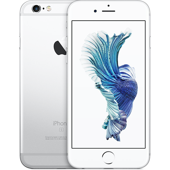 Apple iPhone 6S Plus - 64GB, 4G LTE, Silver - Aiiwah.com