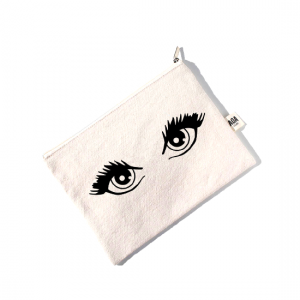 AOA Canvas Pouch - Eyelashes For Days - Aiiwah.com