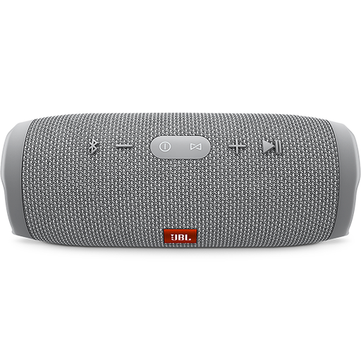 JBL Charge 3 Waterproof portable Bluetooth speaker, Gray -JBLCHARGE3GRAY-Aiiwah.com