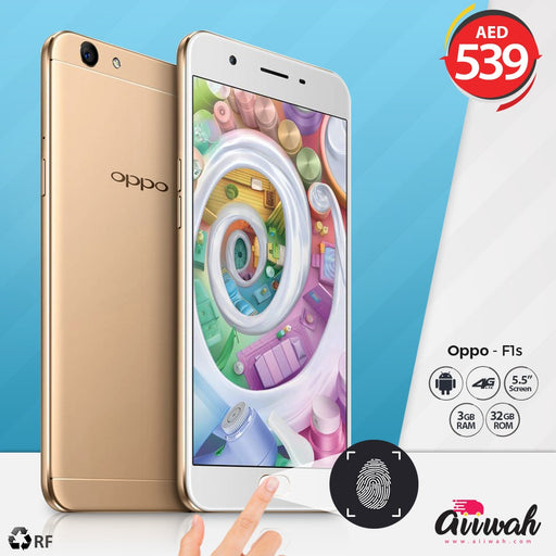 OPPO Selfie Expert F1S - 32GB,4G LTE,Gold (Refurbished) - Aiiwah.com
