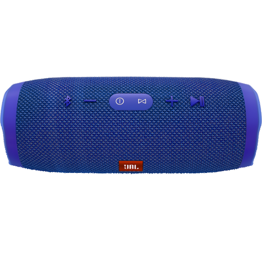 JBL Charge 3 Waterproof portable Bluetooth speaker, Blue -JBLCHARGE3BLUE-Aiiwah.com
