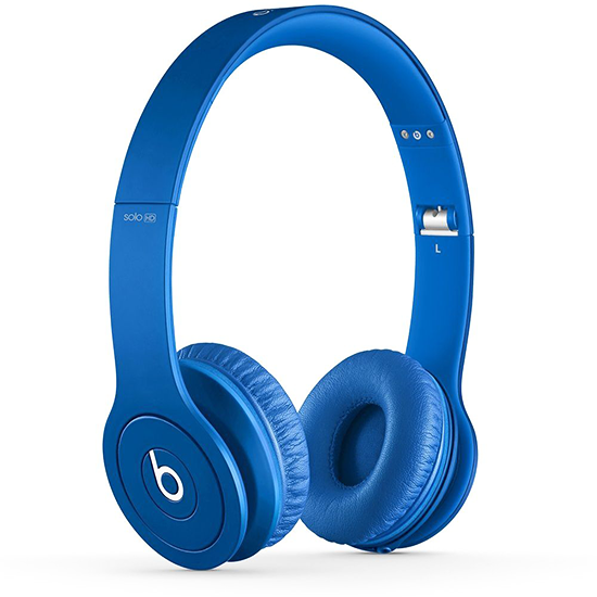 Beats Solo HD On-Ear Headphone - Matte Blue - Aiiwah.com