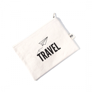 AOA Canvas Pouch- TRAVEL - Aiiwah.com