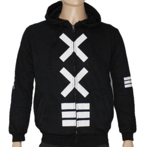 "Trap ""XXE"" Hoodie Jacket High Quality - Black"