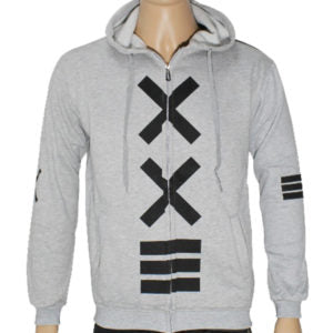 "Trap ""XXE"" Hoodie Jacket High Quality - Grey"