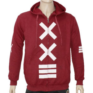 "Trap ""XXE"" Hoodie Jacket High Quality - Red"