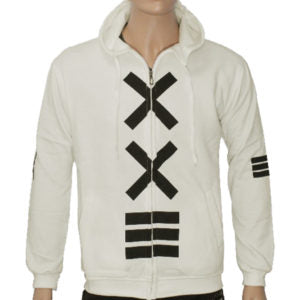 "Trap ""XXE"" Hoodie Jacket High Quality - Off White"