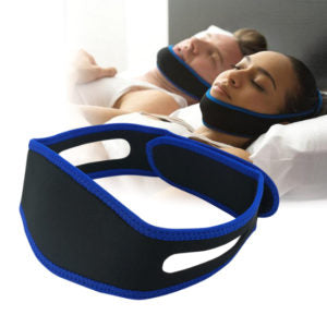 Anti Snoring Strap Jaw Chin Snore Belt - Aiiwah.com