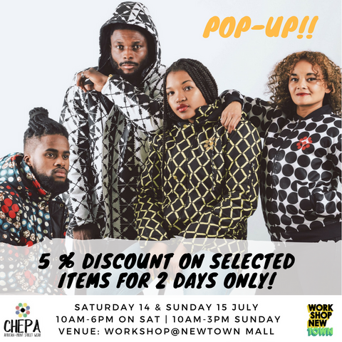 Chepa Streetwear Pop-Up at Workshop Newtown