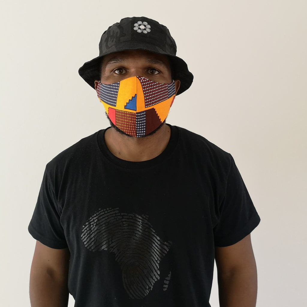 Big Kente - Ninja Face Mask (Unisex)
