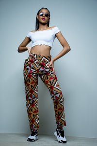 Ladies - Makhosi Fitted Pants