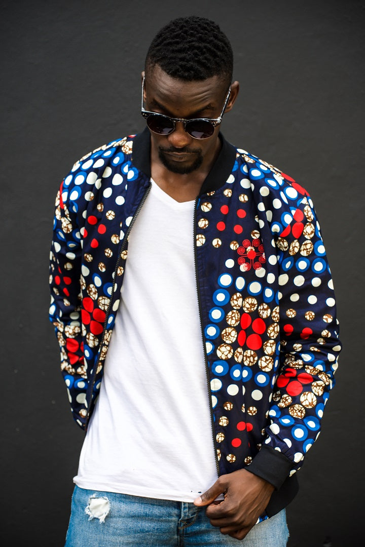 Mens - Domino Summer Bomber Jacket