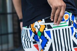 Mens - Ndebele Shorts