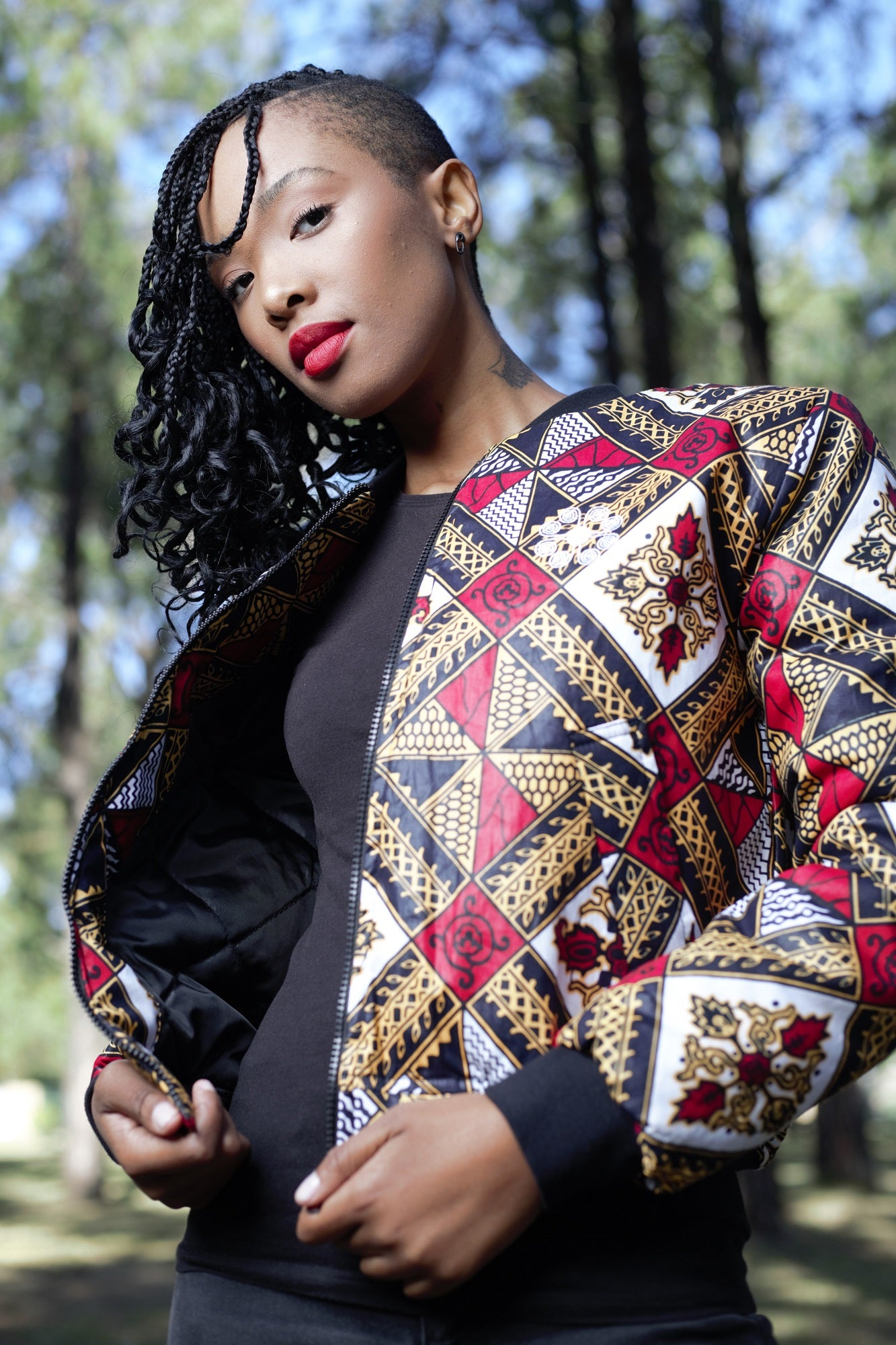 Ladies - Makhosi Winter Bomber Jacket